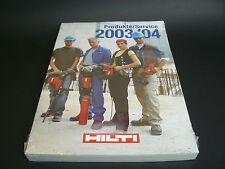 Hilti Katalog 2003/04