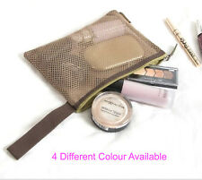 Net Cosmetic Bag See Through Multifunction Travel Makeup Pouch Toiletry Organize