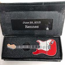 Mark Knopfler Rennes  June 28, 2013 Privateering Tour Guitar