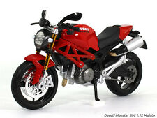 Ducati Monster 696 1:12 Maisto Diecast Scale Model Bike scale arts india