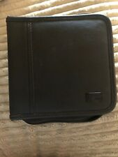 Case Logic CD Wallet, 32-Disc Rare Leather Like Material In Very Good Condition!