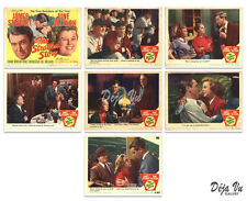 The Stratton Story Lobby Card Set of 7 - James Stewart - 1949 - VF