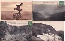 Lot de 4 cartes postales anciennes BALLON D'ALSACE