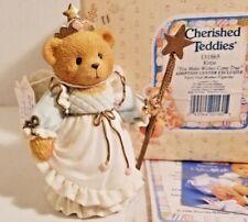 New 🔥Cherished Teddies Kittie U Make Wishes C/True 131865 Nib * 🔥