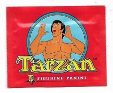 POCHETTE AUTOCOLLANTS TARZAN, FIGURINE PANINI, STICKERS 1978, RETRO VINTAGE