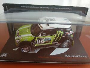 COCHE 1/43, ALTAYA, MODELO MINI ALL4 RACING DAKAR 2013
