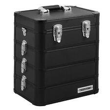 anndora Werkzeugkoffer Toolbox Universal Beauty Case 4 Etagen Ebenen variabel