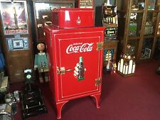 "1930's General Electric Monitor-Top Coca Cola Refrigerator  ""WATCH VIDEO"""