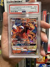 Pokemon Burning Shadows Charizard GX 20/147 PSA 10 GEM MINT