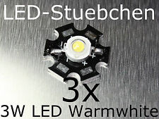 3x 3W High-Power LED Warmweiss 700mA