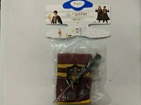 Harry Potter Halloween Costume Set with Wand Scarf Glasses Size Medium No Robe