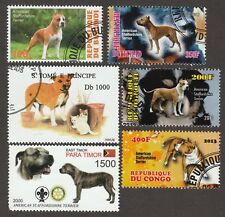 American Staffordshire Terrier*Int'l Dog Stamp Collection*Great Gift Idea