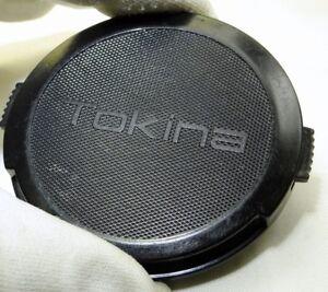 Lens Front Cap Tokina 62mm snap on type