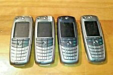 UNTESTED RARE LOT 4X MOTOROLA A845 AT&T GSM BAR SILVER CHROME CAMERA CELL PHONES