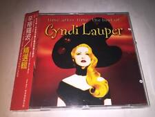 Cyndi Lauper Time After Time The Best Of Collections Taiwan OBI CD x 2 Sealed