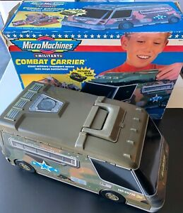 Micro Machines - Military Combat Carrier PlaySet (w/Original Box) - 1998 Galoob