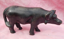 "Vintage Stone Ware? Buffalo Estatuilla Oriental? 5 1/2"" largo 3"" alto Perfecto Estado"