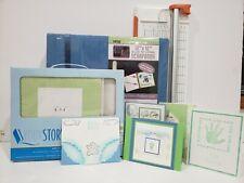 Scrapbook Baby Kit 12x12 Album Baby Album Kit Friskars paper trimmer