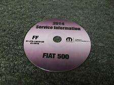 2014 Fiat 500 Shop Service Repair Manual CD Pop Sport Turbo Lounge Abarth 1.4L