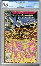 X-Men  #226  CGC  9.6  NM+   White pgs  2/88  Freedom Force & Forge App. Marc Si