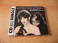 Maxi CD Luisa Fernandez & Peter Kent - Illusion - 1991 - Rare