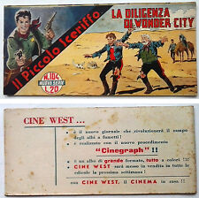 Striscia IL PICCOLO SCERIFFO IIª Serie N 104 TORELLI 1953