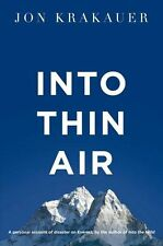 Into Thin Air: A personal account of the Everest disaster  - updated 2nd editio