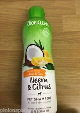 Tropiclean Dog Flea & Tick Shampoo With Neem and Citrus Helps Relieve Itching