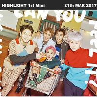 HIGHLIGHT CAN YOU FEEL IT? 1st Mini Album SENSE Ver CD+Card+Paper+Booklet KPOP