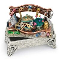 NEW SWEET ROMANCE VINTAGE STYLE SEWING SHELF STORY BOX / TRINKET BOX
