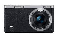 Samsung NX Mini 20.5MP Digital SLR Camera - Black (Kit w/ NX M 9mm Lens)