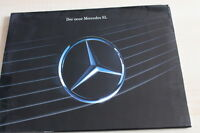 136360) Mercedes 300 SL-24 500 R129 Prospekt Mappe 08/1990