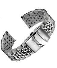 BEADS OF RICE 316L PREMIUM STAINLESS STEEL 22mm BRACELET WITH CLASP-STUNNING!