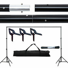 10ft Adjustable Photography Background Support Stand Backdrop Crossbar Kit