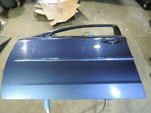 2011 SUBARU IMPREZA OEM BLUE LH DRIVER FRONT DOOR