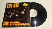 "ACID HOUSE - The KLF .- 3 A.M. Eternal (Live At Th / VG / VG / 12"" VINILO VINYL"