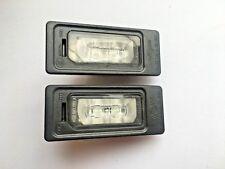 2 Original AUDI Kennzeichenleuchte Nummerschildleuchte LED 4G0943021A A1 A4 A5