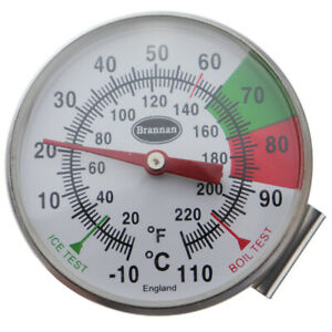 STAINLESS STEEL FROTHY COFFEE & MILK THERMOMETER 175 MM - BARISTA - 31/151/0