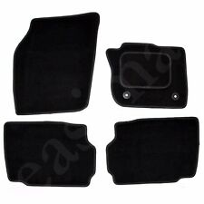 Ford Mondeo MK5 2014 onwards Tailored Carpet Car Mats Black 4pcs Floor Set