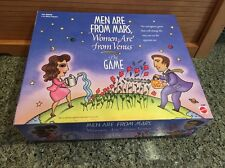 Men Are From Mars, Women Are From Venus THE GAME - Mattel 1998 - For Adults