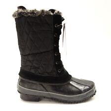 Khombu Womens Waterproof Faux Fur Lined Insulated Winter Duck Boot SZ 6 M