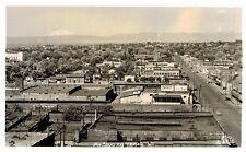 RPPC,Yakima,Washington,Birds Eye View,Mt.Adams in Distance,Ellis Photo,c.1945-50