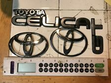 1992 Toyota Celica GT Front And Rear Emblems