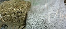 SEED STARTING     2-GALLONS of EACH:  COARSE VERMICULITE & COARSE PERLITE