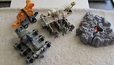 Hot Wheels Armageddon  Action Sites 1997 Mattel Drilling Unit & Explosion Zone