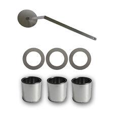 Juego de accesorios para chimenea de etanol latas + placas ahorra-combustible
