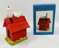 Vintage United Feature Syndicate Inc. SNOOPY & DOG HOUSE Coin Bank NEW