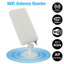 Antenna WiFi 2.4G Distanza Wireless Amplificatore ripetitore Adattatore USB