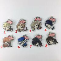 Anime Game Persona5 P5 Acrylic Keychain Key Ring Straps Rare