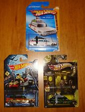 Hot Wheels Ghostbusters Ecto- 1 Lot of 3. Halloween ,1st release